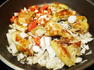 5-pollastre, ceba, tomàquet