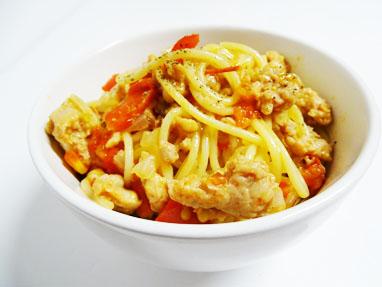 11-Espaguetis amb salsitxes