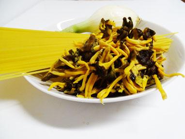 1-Espaguetis amb camagrocs