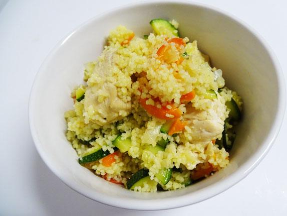 20-Cuscús amb pollastre i verdures