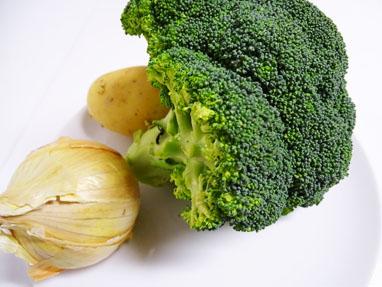1-Crema de brócoli