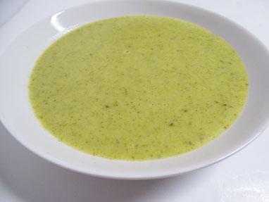 10-Crema de brócoli