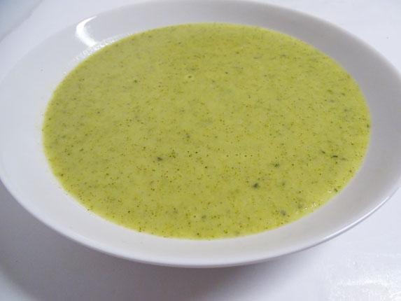 11-Crema de brócoli