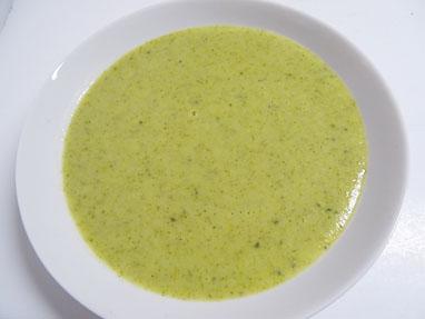 6-Crema d brócoli