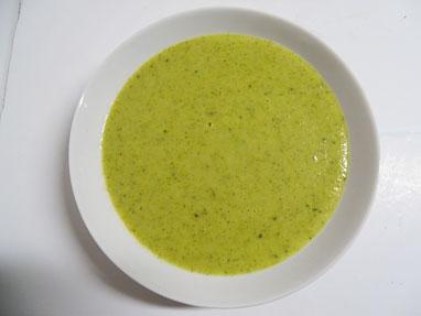 7-Crema de brócoli
