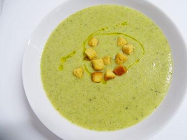 8-Crema de brócoli
